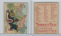T37 Turkey Red, Automobile Series, 1910, Stevens Duryea