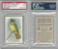 J9-6, Church & Dwight, Useful Birds 10th, 1925, #3 Flycatcher, PSA 9 Mint