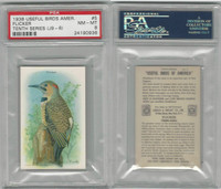 J9-6, Church & Dwight, Useful Birds 10th, 1925, #5 Flicker, PSA 8 NMMT