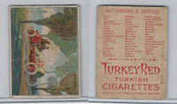 T37 Turkey Red, Automobile Series, 1910, Thomas
