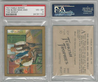 T57 Turkish Trophies, Fable Series, 1910, The Blind Man & Whelp, PSA 4 VGEX