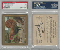 T57 Turkish Trophies, Fable Series, 1910, The Cock and the Jewel, PSA 5 EX