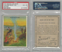 T73 Hassan, Indian Life, 1910, Calling Back the Moose, PSA 4 VGEX