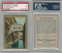 T99 ATC, Sights & Scenes, 1911, Bridge of Sighs, PSA 5 EX