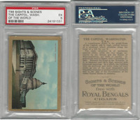 T99 ATC, Sights & Scenes, 1911, Capitol, Washington DC, PSA 5 EX