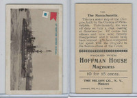 T40 Hoffman House Little Cigars, Battleships, 1910, #8 Massachusetts