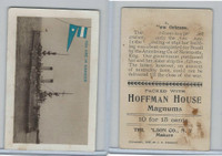 T40 Hoffman House Little Cigars, Battleships, 1910, #10 New Orleans