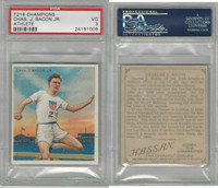 T218 Mecca/Hassan, Champions, 1910, Chas J. Bacon, Runner, PSA 3 VG