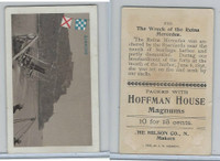 T40 Hoffman House Little Cigars, Battleships, 1910, #13 Reina Mercedes