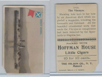 T40 Hoffman House Little Cigars, Battleships, 1910, #18 Viscaya