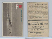 T40 Hoffman House Little Cigars, Battleships, 1910, #20 Wreck of Cristobal Colon