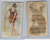 T406 American Tobacco Company, Fancy Bathers, 1910, Cherbourg