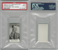 B0-0 Bridgewater, Film Stars 8th Series, 1940, #13 Dennis O'Keefe, PSA 9 Mint