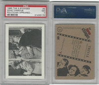 1985 FTCC, Three Stooges, #9 What Famous, PSA 7 NM