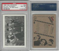1985 FTCC, Three Stooges, #22 Out Of The Small, PSA 8 NMMT