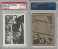 1985 FTCC, Three Stooges, #33 Which Stooges, PSA 8 NMMT