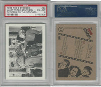 1985 FTCC, Three Stooges, #44 What Three Southern, PSA 6 EXMT