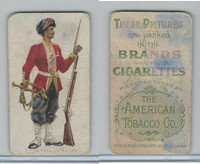 T413 American Tobacco Co., Military Uniforms, 1910, #22 7th Negal Infantry