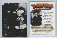 1997 Duocards, Three Stooges, #1 The Three Stooges