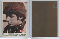 1967 Donruss, The Monkees, Sepia Series, #36