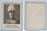 C98 Imperial Tobacco, World War I, 1916, #21 Sir Chas. Douglas