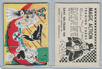 W510-3 Abbey, Magic Action Trading Cards, 1964, Circus Seal