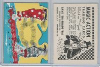 W510-3 Abbey, Magic Action Trading Cards, 1964, Circus Clowns Balls