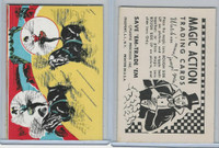 W510-3 Abbey, Magic Action Trading Cards, 1964, Circus Trick Riding