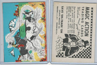 W510-3 Abbey, Magic Action Trading Cards, 1964, Cowboy Roping Steer