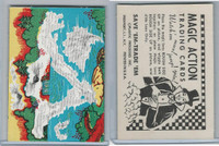 W510-3 Abbey, Magic Action Trading Cards, 1964, Frog Leaping