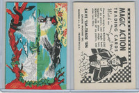 W510-3 Abbey, Magic Action Trading Cards, 1964, Alligator, Monkey