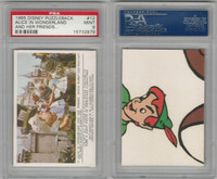 1965 Donruss, Disney Puzzleback, #12 Alice in Wonderland, PSA 9 Mint