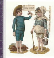 Victorian Diecuts, 1890's, Nursery Rhymes, Lot of Nine (P4)