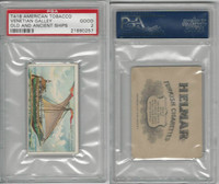 T418 American Tobacco, Old And Ancient Ships, 1910, Venetian Galley, PSA 2 Good