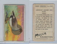 T42 American Tobacco, Birds, 1910, American Golden Eye Duck
