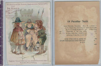 Victorian Card, 1890's, Dr. Kings, Children, Much Ado About, Shakespeare