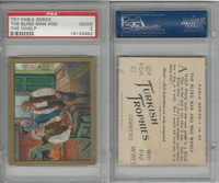 T57 Turkish Trophies, Fable Series, 1910, The Blind Man & Whelp, PSA 2 Good