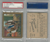 T57 Turkish Trophies, Fable Series, 1910, The Blind Man & Whelp, PSA 3 VG