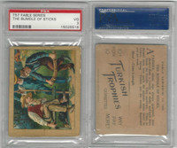T57 Turkish Trophies, Fable Series, 1910, The Bundle of Sticks, PSA 3 VG