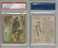 T57 Turkish Trophies, Fable Series, 1910, The Crab & Her Mother, PSA 2.5