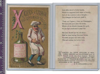 Victorian Card, 1890's, Sollers & Co. Chef & Bottle