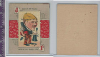 "Victorian Card, 1890's, ZZ, ""J""  Jack Of All Trades"