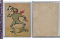 Victorian Card, 1890's, ZZ, Skating, Such Elegant Fun