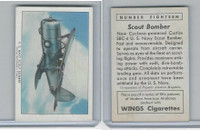 T87 Wings Cigarettes, Series (No Letter Series), 1941,#18 Scout Bomber
