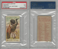 N3 Allen & Ginter, Arms of all Nations, 1887, Assagai, PSA 3 VG