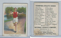 E229 National Licorice, Champion Athletes, 1920's, Joseph Ballard, Runner