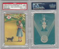 1940 Castell Card, Wizard Of Oz, #11 Dorothy & Toto Yellow Brick, PSA 9 Mint