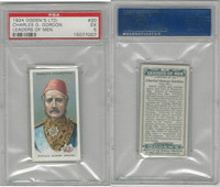 O2-156 Ogden, Leaders of Men, 1924, #20 Charles Gordon, PSA 5 EX