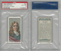 O2-156 Ogden, Leaders of Men, 1924, #32 John Milton, PSA 4 VGEX