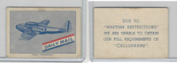 M10-91 MacDonald, Daily Mail Aeroplane, 1940's, Bell Airacobra (2)